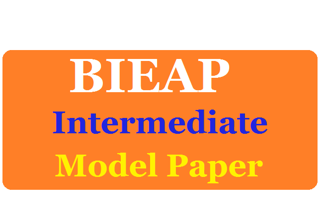 Manabadi AP Inter 2nd Year Model Paper 2020