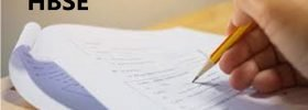 Haryana 10th Model Paper Design 2020 HBSE X Blueprint Question Paper 2020 Hindi English PDF