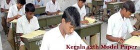 Kerala 12th Model Paper Subjects 2020