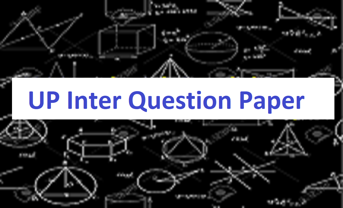 UPMSP 12th Question Paper 2021 Hindi English PDF